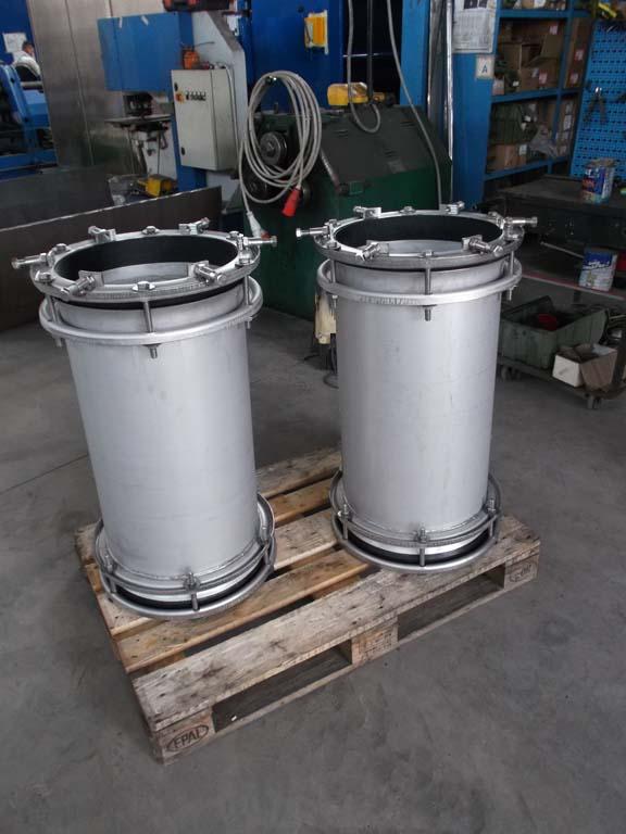 SUPER HYDRO INOX with elongated body for submarine pipelines in Tyrrhenian Sea ( Aeolian islands fresh water supply)