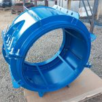 HYDRO FAST repair coupling for flange adapter