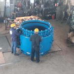 HYDRO STOP The most efficient repair coupling work in progress