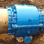 HYDRO STOP The most efficient repair coupling installation