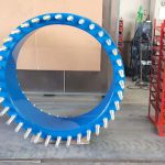DN 1200 PN 16 dismantling joint used to dismantle and or substitution of hydraulic equipments