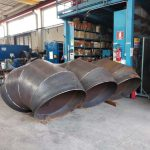 special pieces for flange adapter