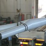 special pieces for pipelines of any kind and size bends, vents, hydrants, tees, conical reductions